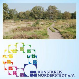 Unterricht im Kusnthaus - Tag des Ateliers - Heidelandschaft - Foto und Grafik: Katharina Hansen-Gluschitz