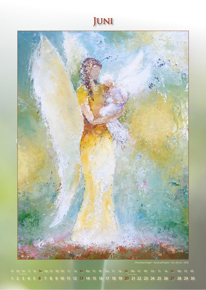 Engel für deinen Alltag - Engelkalender 2021 - © Katharina Hansen-Gluschitz